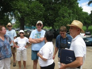 A tour of the grounds with landscape architect Brad Burns.