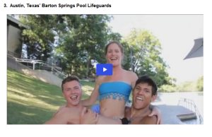 Barton Springs Life Guard Video Contest
